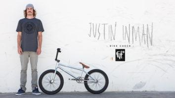 Justin Inman Bike Check