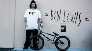 Ben Lewis Bike Check - April 2013