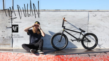 Tom Dugan Bike Check - October 2013