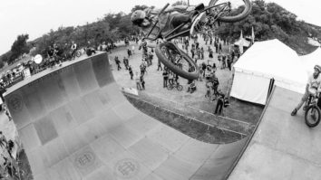 Dugan Ups the Fun on the Vert Ramp at Fun Fun Fun Fest. Photo: Cody Nutter