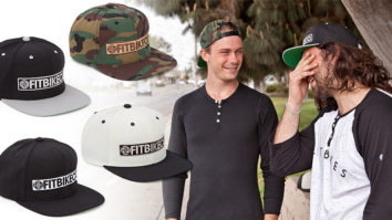 The Classic Snapback - in Black/Silver, Camo, Natural/Black and Black.