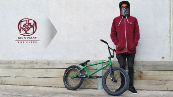 Benn Pigot - July 2014 Bike Check