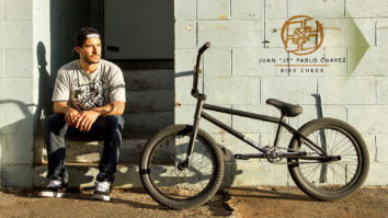 JP Chavez Bike Check - July 2014