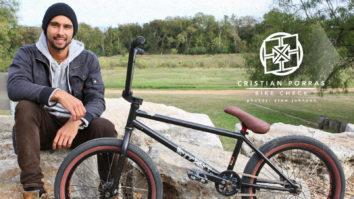Cristian Porras Bike Check - November 2014