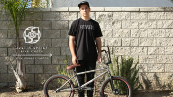 Justin Spriet Bike Check - February 2015
