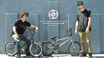 Travis Cordova & Troy Blair Bike Check - April 2015